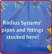 Radius Pipe Fittings Stocked